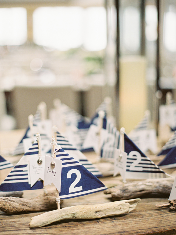 sailboat nautical wedding