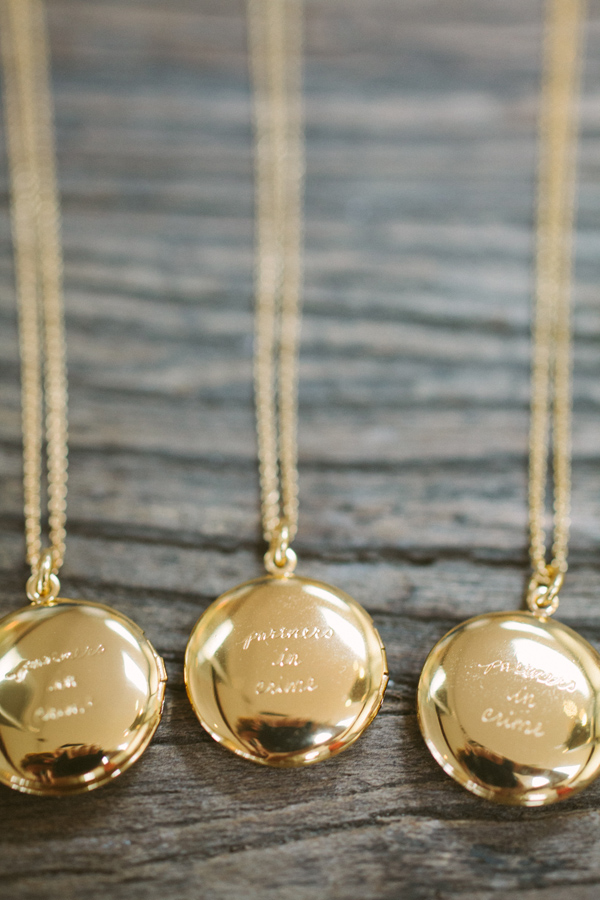 kate spade necklace bridesmaid
