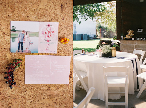 Shabby Chic Shower at Lytle Cove Cottage – Wedding Chicks Save the Date