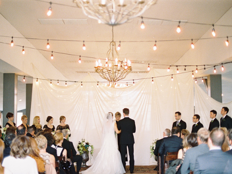 Pecan Grove Salt Lick Wedding Reception Published On Style Me Pretty